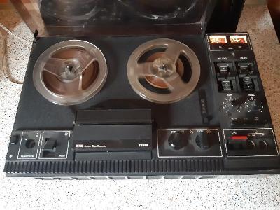 Kotoučový magnetofon Tesla B 730 Stereo Tape Reccorder, FUNKČNÍ.RARE!!