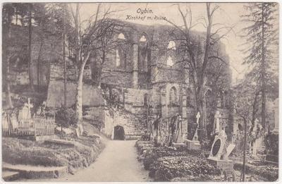 Německo, Žitavské hory, Oybin - prošlá 1910