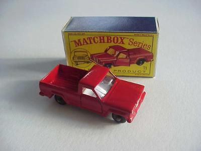Matchbox RW Nr. 71 JEEP GLADIATOR PICK-UP TRUCK + krabička