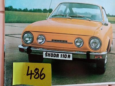 Prospekt - Škoda 110 R