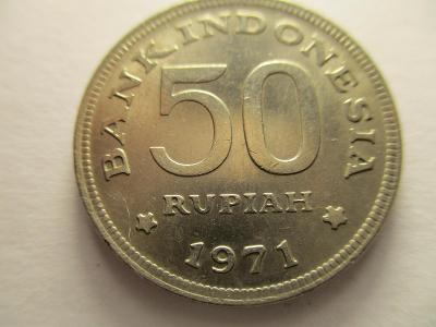 INDONESIA - 50 Rupie z roku 1971