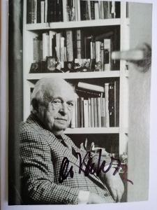 Autogram Otakar VÁVRA režisér  ...