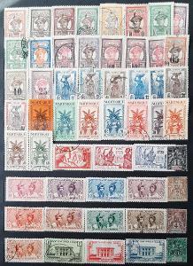 Sbírka poštovnich známek MARTINIGUE.