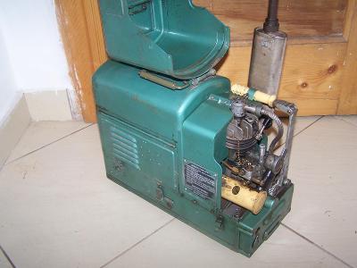Soustrojí SS 125 1960 elektrocentrála