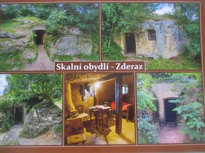 Toulovcovy maštale  skalní obydlí Zderaz SK