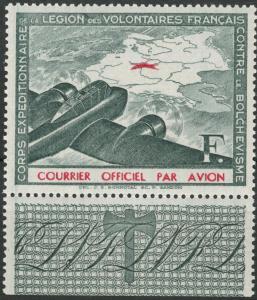 Deutsches Reich - WWII FRANCOUZKÉ LEGIE 1941 - Mi. II ** OR