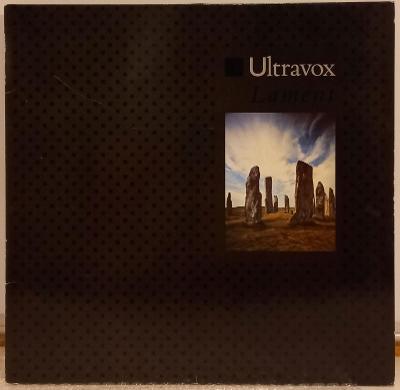 LP Ultravox - Lament, 1984 EX