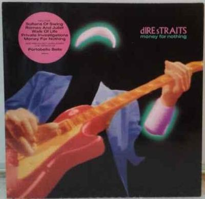 LP Dire Straits - Money For Nothing, 1988 EX