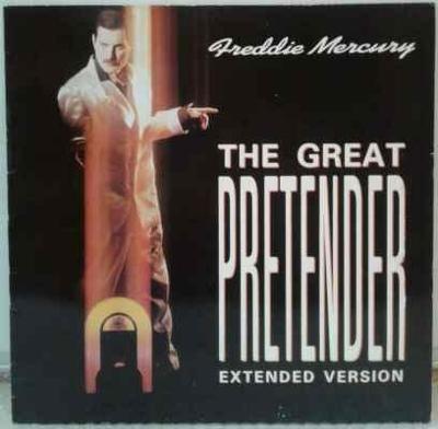 Freddie Mercury - The Great Pretender, 1987 EX