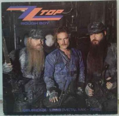 ZZ Top - Rough Boy, 1986 EX