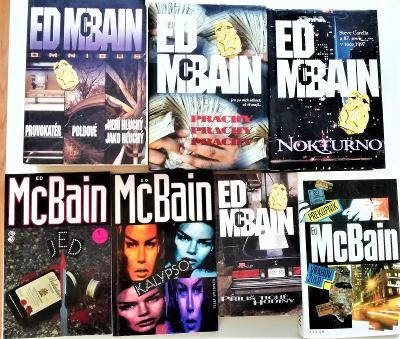 7x Ed McBain a 4x E.S.Gardner