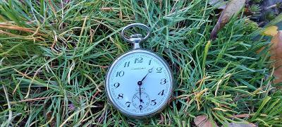 Cortebert - pěkné  kapesní hodinky.