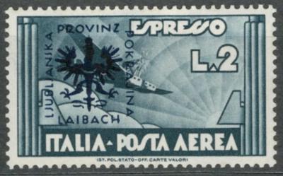 Deutsches Reich - WWII OKUPACE LAIBACH / LJUBLJANA - Mi. 28 *