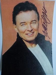 Autogram ... Karel GOTT ...