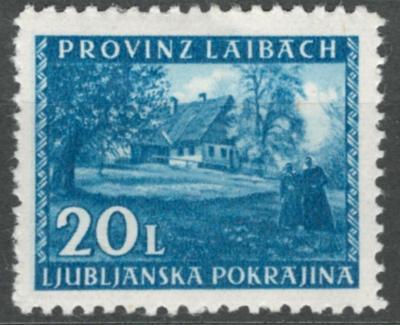 Deutsches Reich - WWII OKUPACE LAIBACH / LJUBLJANA - Mi. 59 *