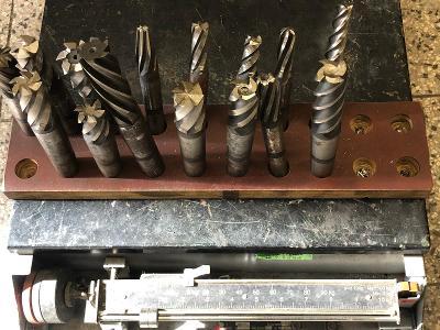fréza na kov - set