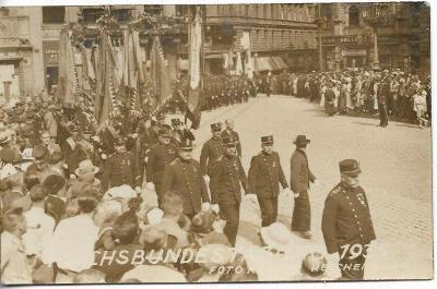 Reichenberg - Liberec , fotopohlednice , rok 1935