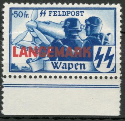Deutsches Reich - WWII VLÁMSKÉ LEGIE - LANGEMARK - Mi. XX ** OR