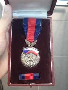 MONETA NOVA - ČSSR - Řád republiky, typ ČSSR, 1 varianta, č. 607 TOP !
