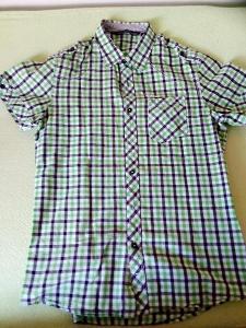 Chlapecká košile - kostkovaná