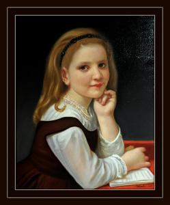 Obraz Portrét Dívka