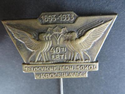SOKOL - SOKOLSKÝ:  40 LET SOKOL KROČEHLAVY 1933 - Kladno