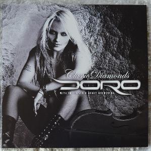 Doro – Classic Diamonds - 2LP - bílý vinyl - Germany - 2018 - limited