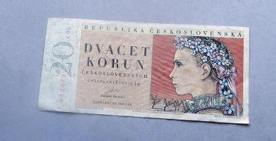20 Kč 1949