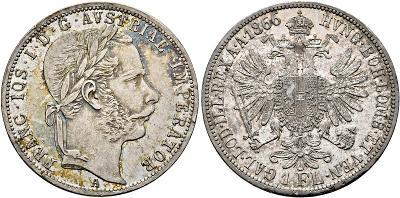 Zlatník 1866 A velmi vzácný a patinou !!