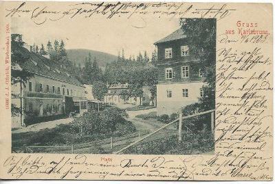 Altvatergebirge - Karlsbrunn , DA - Karlova Studánka , okr. Bruntál