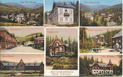 Altvatergebirge - Karlsbrunn , Karlova Studánka, okr. Bruntál