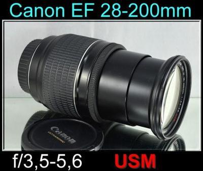 💥 Canon EF 28-200mm f/3.5-5,6 USM **FF *Univerzál*Zoom lens**  👍TOP