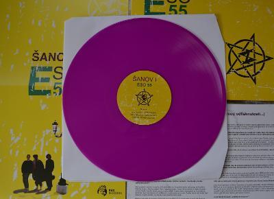 Šanov 1 – Eso 55 - fialové LP - limited - ručně číslované - 131/150