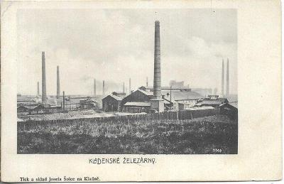 Kladno - Kladenské železárny