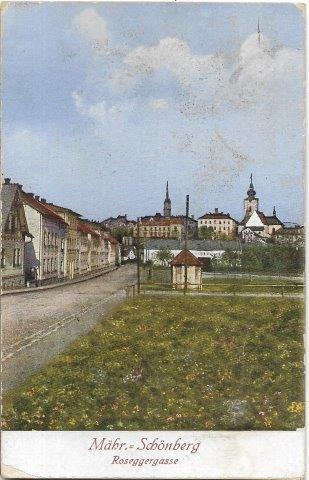 Mähr.Schönberg , Roseggergasse - Šumperk