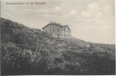 Altvatergebirge - Georgsschutzhaus auf der Hochschar , Jeseníky