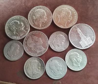 Konvolut mincí Ru+5 Marka.