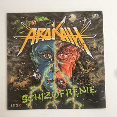 LP Arakain - Schizofrenie (1991 - Rexlex, Supraphon) TOP STAV!!!!