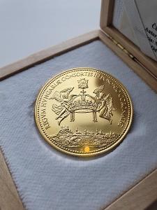 10 - dukát číslovaný , Kráľovský - SUPER STAV !!! Manželky kráľov