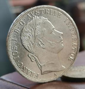 Zlatník(florin) 1860 A
