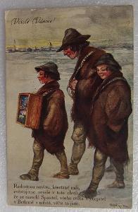 Stará pohlednice  MF