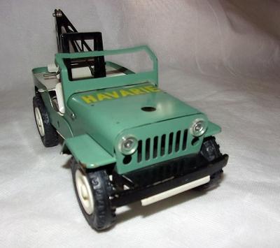 ....ITES Jeep Willys NA KLÍČEK