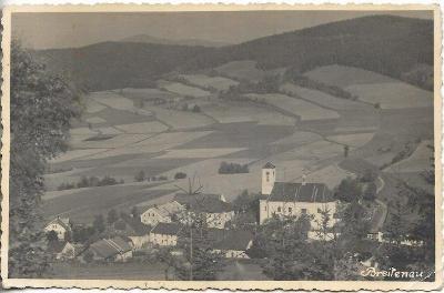 Breitenau - Široká Niva , okr. Bruntál , Jeseníky