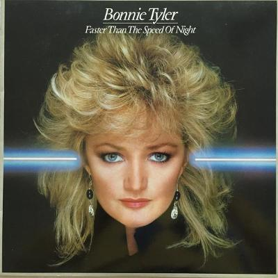 Bonnie Tyler - Faster Than The Speed of Night-CBS1983 UK press EX+