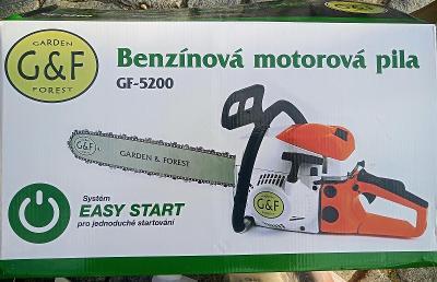 Motorova pila Garden&forest GF-5200 ( nová-zaruka) od 1kc!!!!