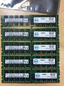 paměti RAM SK Hynix 16GB 2Rx4 PC4 - 2133P-RA0-11 DDR4 ECC registred