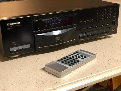 CD přehrávač Pioneer PD-S701 vysoký model, dálka