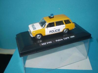 VAZ 2102 POLICIE ČSFR - 1990