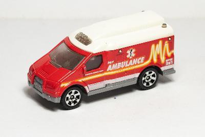 Matchbox  Ambulance sanitka [7551]