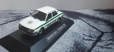 Modely - 1:43 Škoda 120 L Policie ČR
